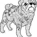 Mandala Hund Mops   Ausmalbilder hunde, Ausmalbilder ...