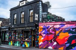 rebel-bunny:  Portobello Street Art and Graffiti in Dublin, Ireland by William Murphy Holy shit this captures the colours perfectly! <3