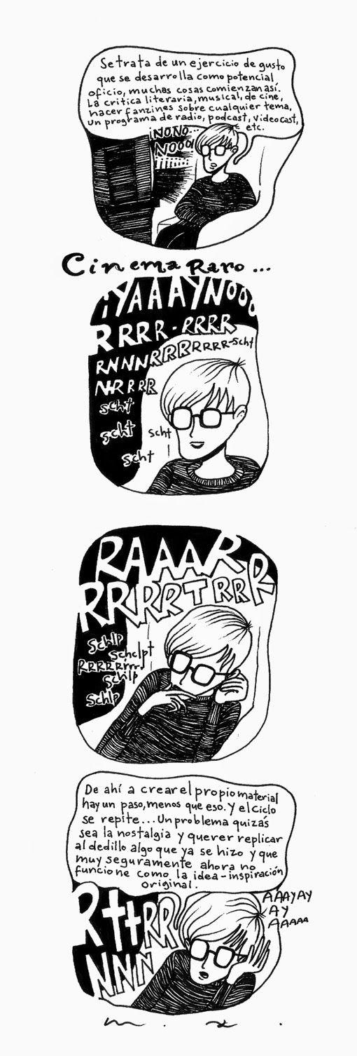Comic Book Nigger: ''Cinema Raro''.