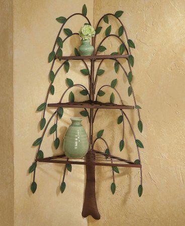 Amazon.com - Collections Etc - Primitive Willow Tree Decorative ...