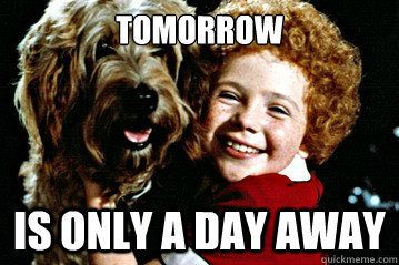 Image result for tomorrow annie
