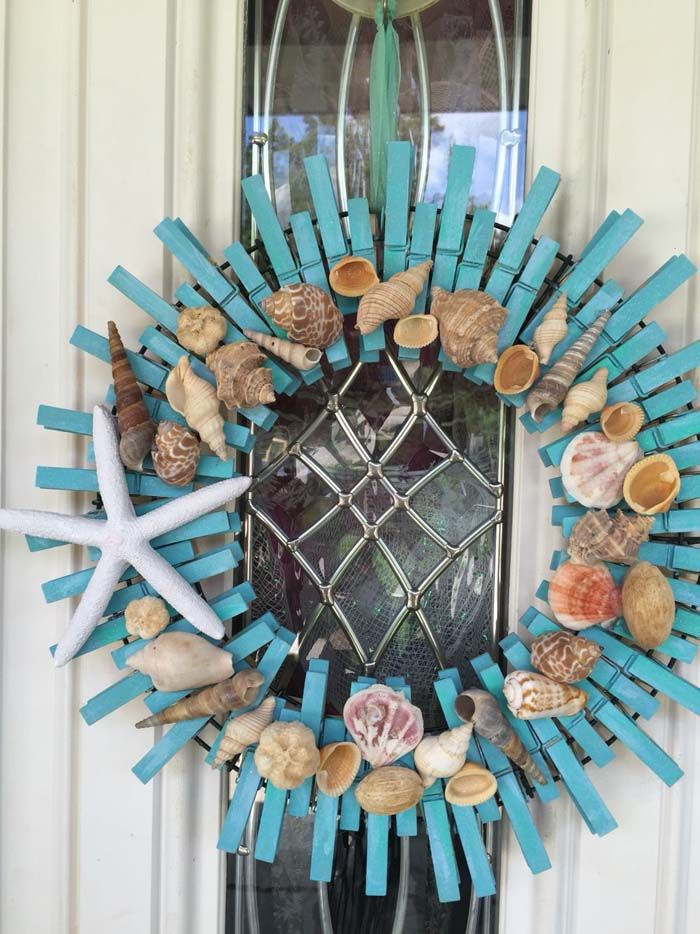 Photo of 48 Best DIY Clothespin Wreaths You Can Try Today