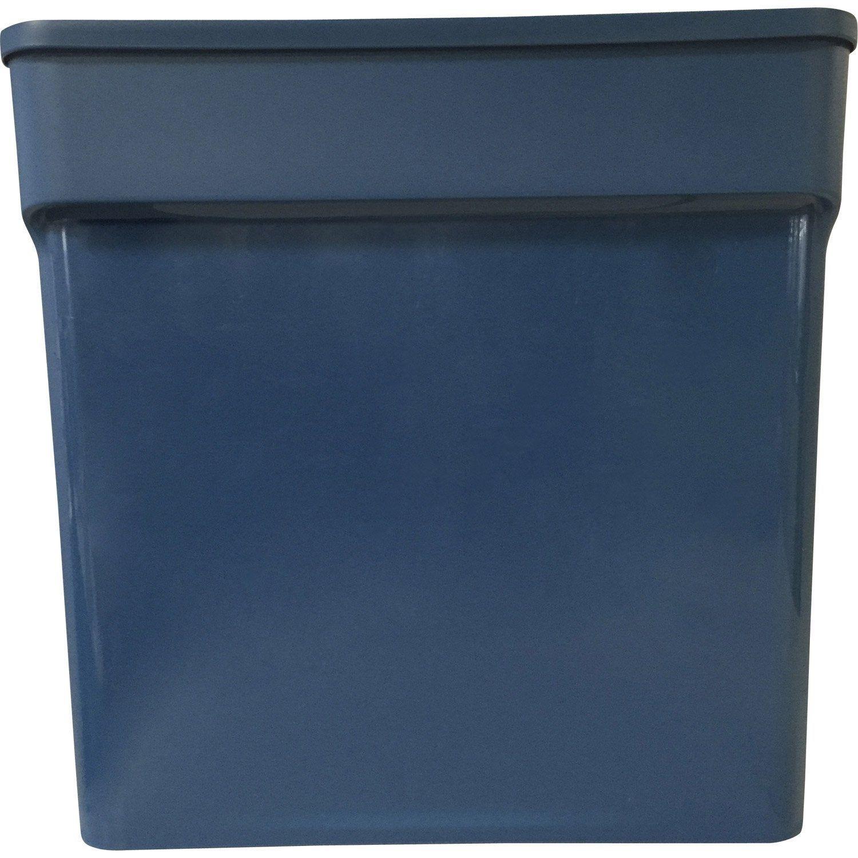 Bac De Rangement Bleu H 31 5 X L 31 4 X P 31 8 Cm