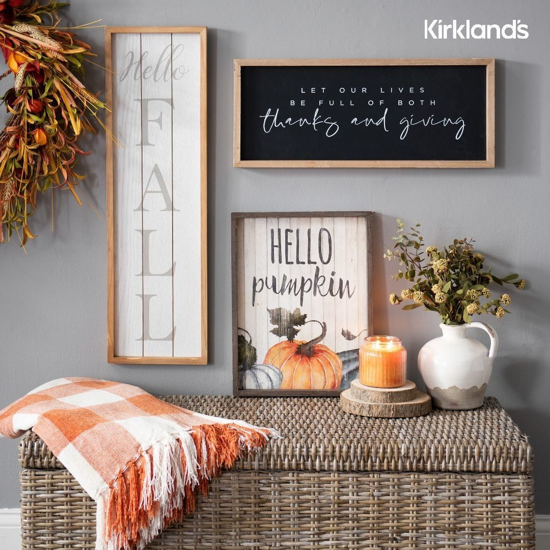 Fall Wall Decor Ideas Tap The Image To Shop Fall Art And Wall Decor Indoor Fall Decor Fall Wall Decor Fall Decor Signs