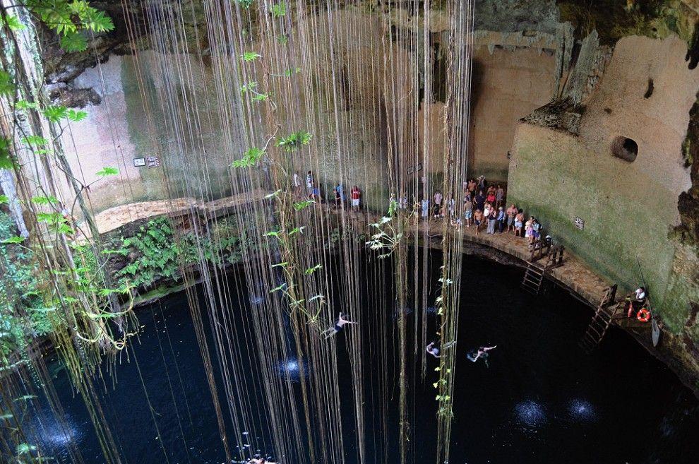 Mayan Ruins of Chichen Itza in Yucatan,  Mexico