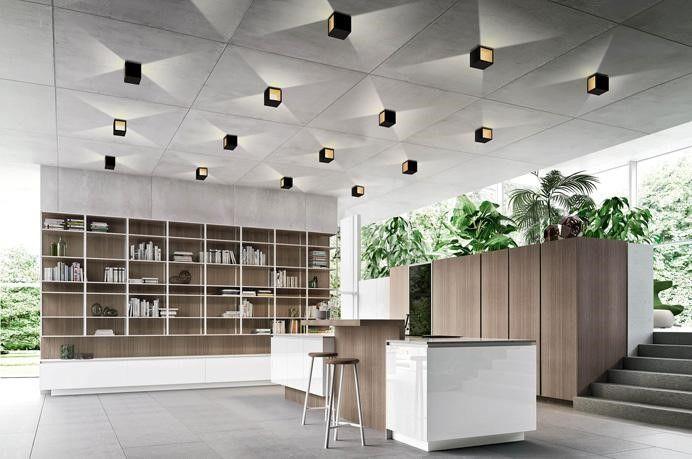 Stunning Open Plan Living Lighting By Egoluce