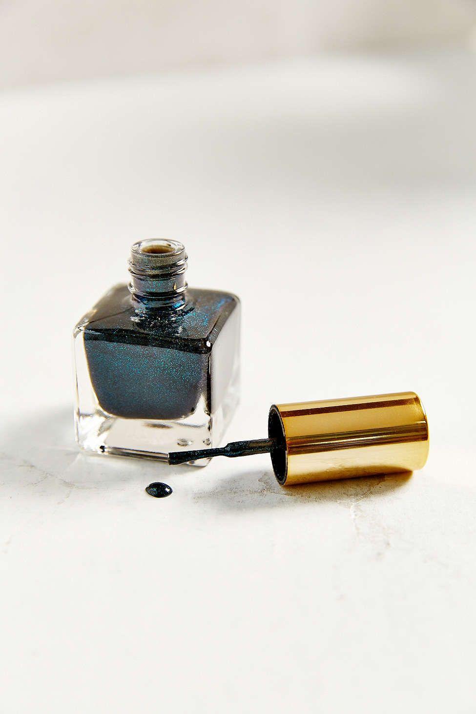 UO Matte Glitter Collection Nail Polish - tuxedo