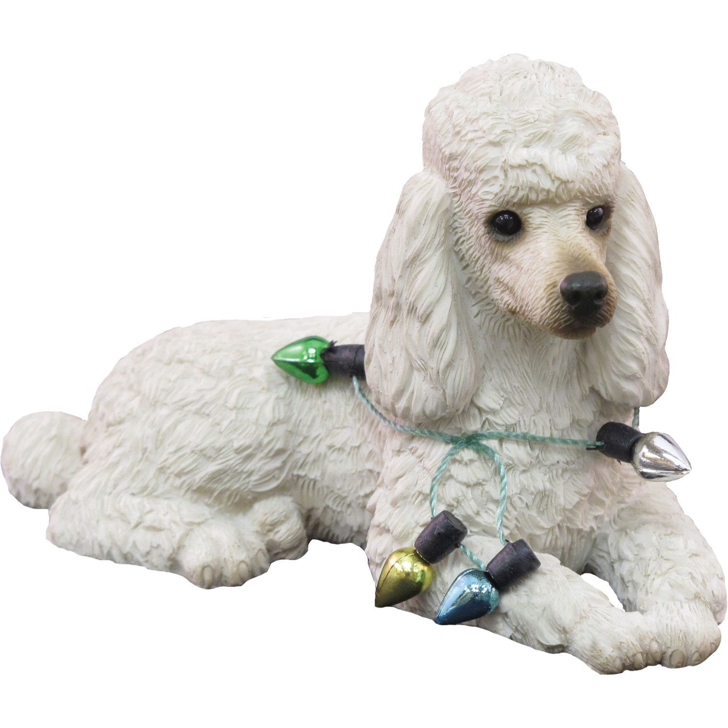 Features: -Made from marble dust and polyresin. -Hand-cast and hand-painted. -Perfect gift for the dog lover in your life. -Ornaments collection. Product Type: -Hanging figurine. Theme: -Animal.
