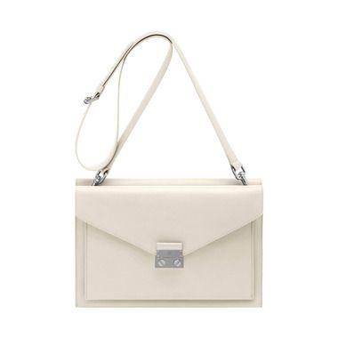 2d2607c72a Kensal Shoulder Bag in Cream Velvet Calf