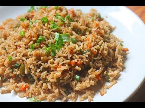 How to make vegetable fried rice youtube fried rice and noodles how to make vegetable fried rice youtube ccuart Image collections