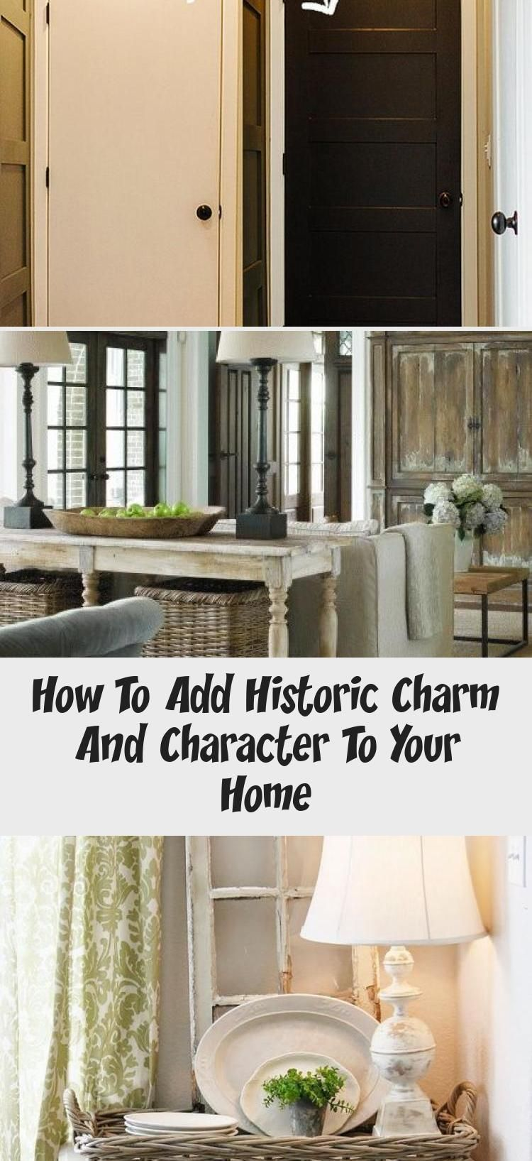 How To Add Historic Charm And Character To Your Home - home design decor