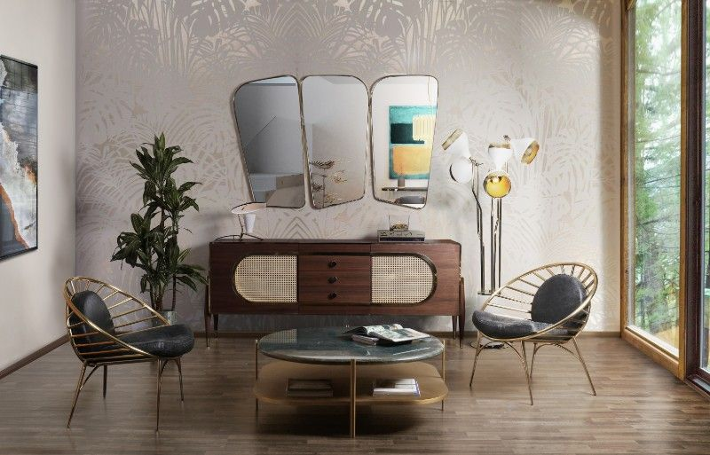 Mid Century Furniture Interer Sovremennye Torshery I Dizajn Doma