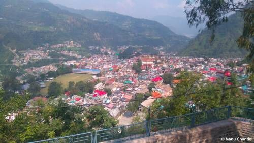 View Of Chamba From Chamunda Devi Temple