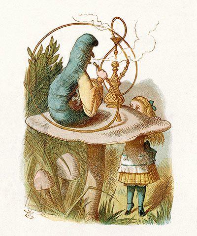 Credit: Alamy John Tenniel illustrates Lewis Carroll's Alice in Wonderland