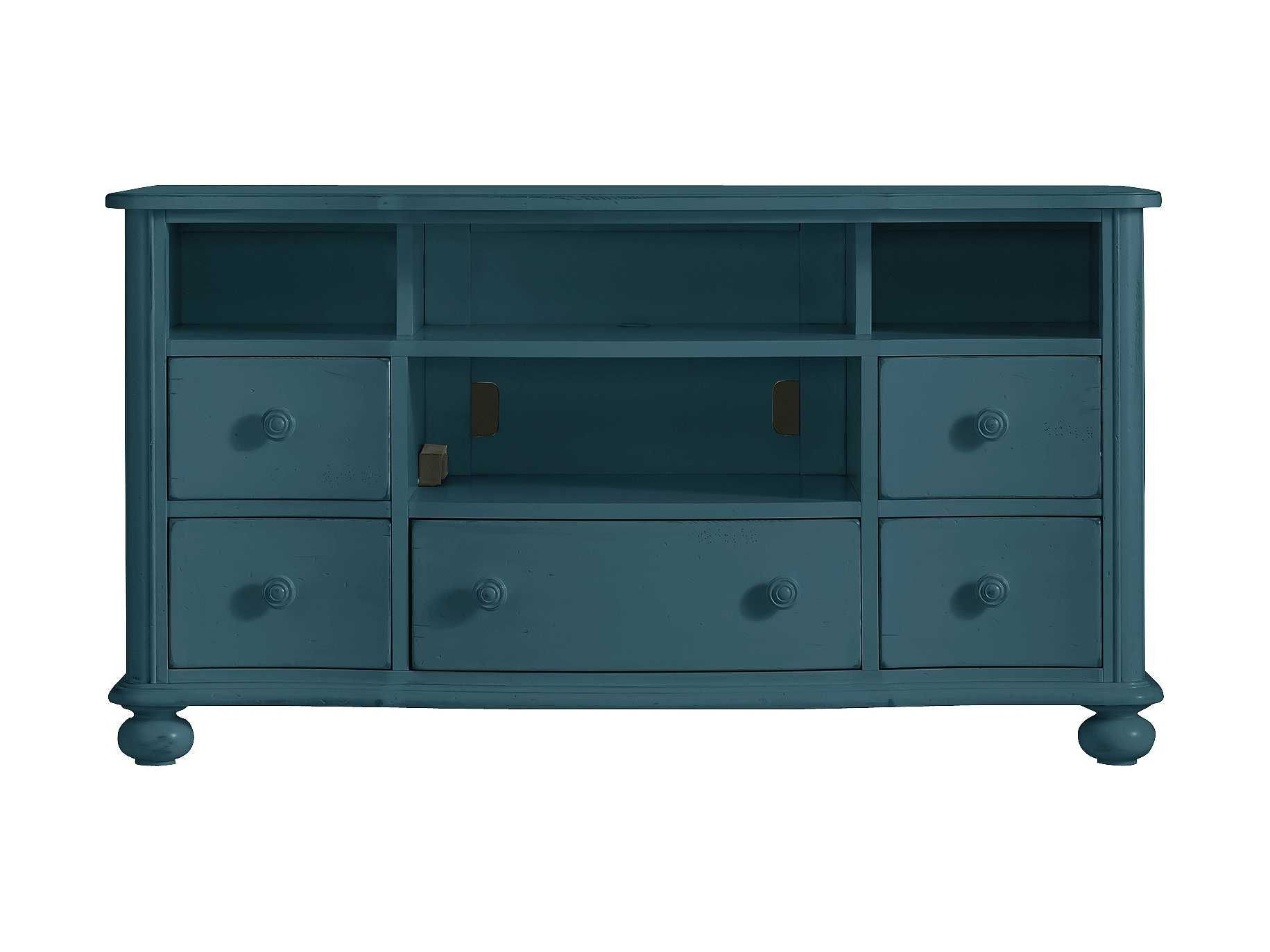 stanley furniture coastal living retreat english blue 59 x 20