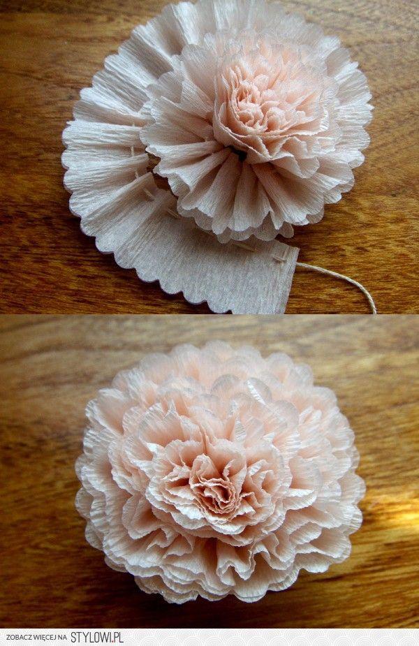 Kwiatek Na Stylowi Pl Paper Flowers Flower Crafts Diy Flowers