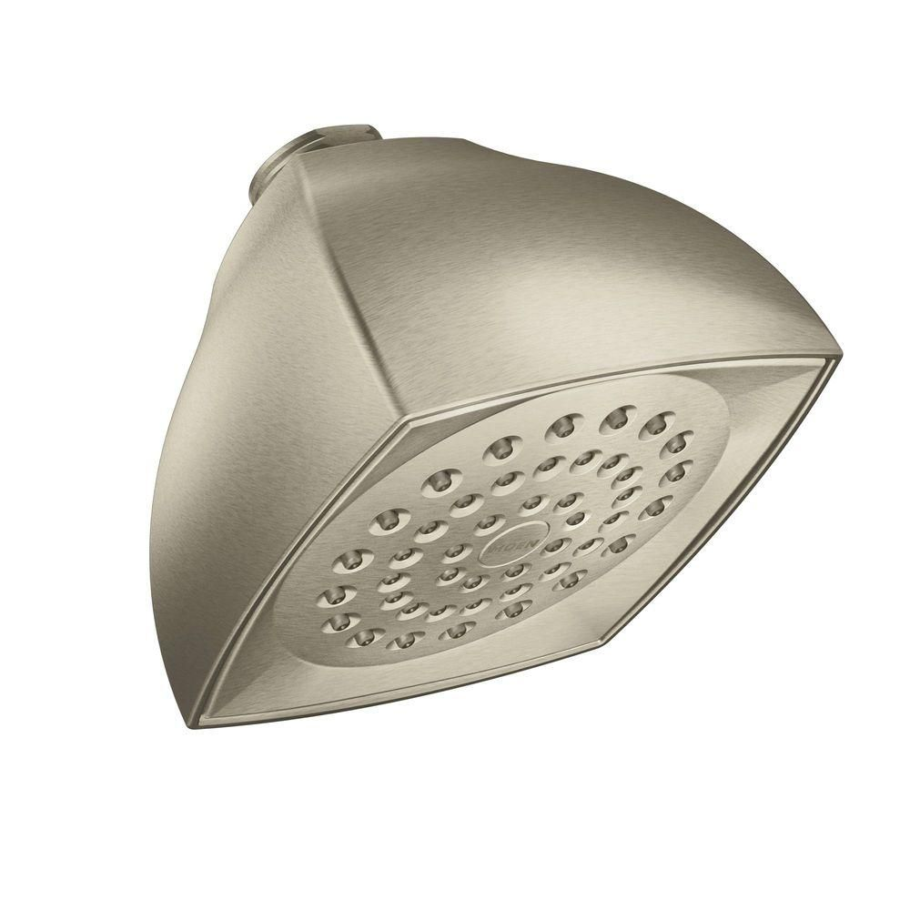 Moen Voss 1 Spray 4 In Showerhead In Brushed Nickel Products