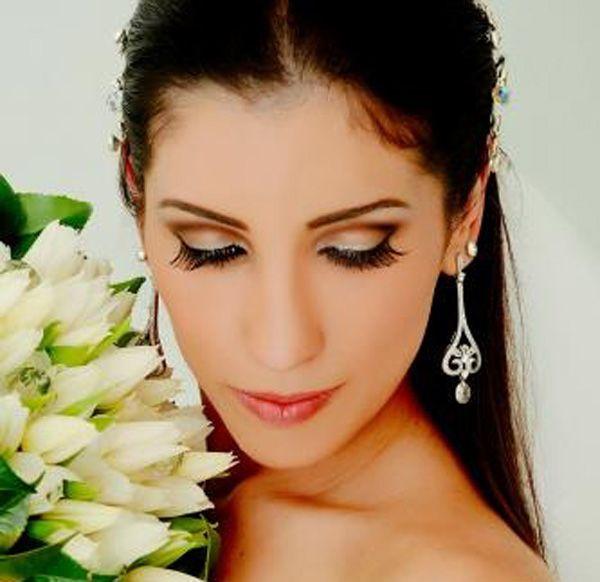 Confiram ideias inspiradoras de maquiagem para noivas:  Gostou? Confira mais ideias de maquiagens inspiradoras...