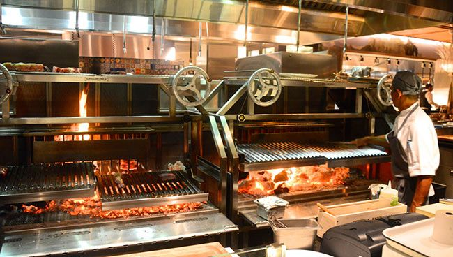 Restaurant Kitchen Grill grillworks inc wood grills - customer grill photos | wood grill