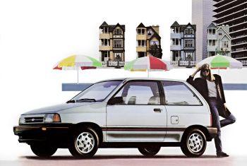 Ford Festiva 3-door (WA) '1986–89