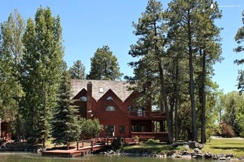 Spacious Villa On The Banks Of Rainbow Lake In Pinetop Lakeside Arizona Rainbow Lake Vacation Rental Vacation