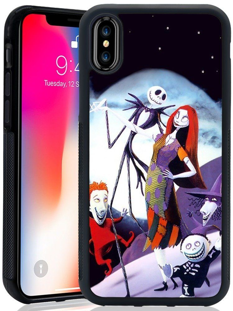 the best attitude f83fe a5962 iPhone X Case, Onelee - The Nightmare Before Christmas TPU and PC ...