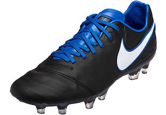 0c892f6d4 Derby Days pack Nike Tiempo Legend in blue and black. Get them from  SoccerPro!