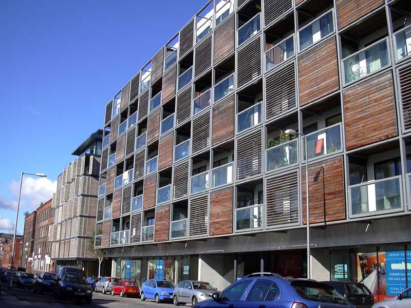 Mid Rise Residential Modern Architecture Apartment Building In Manchester It Meets The