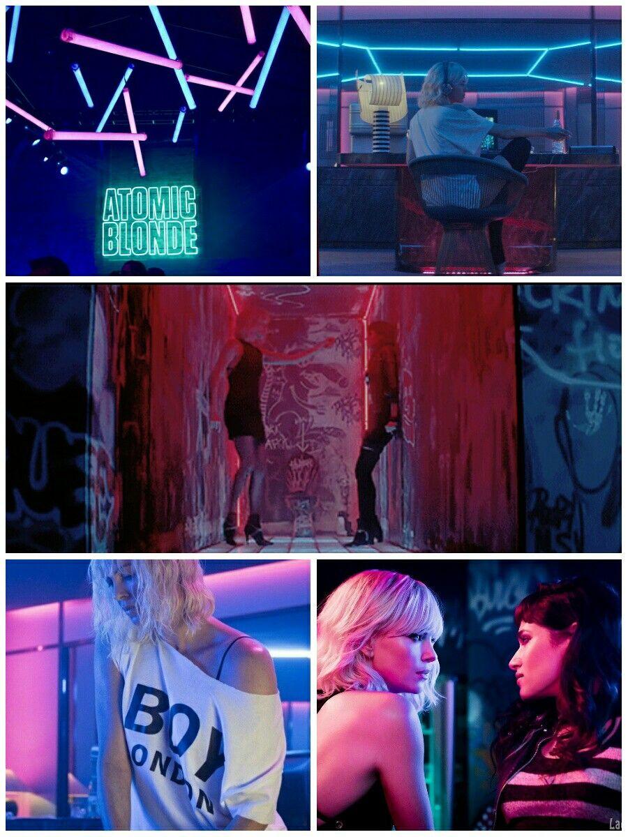 Neon Aesthetic- Atomic Blonde 2017 Neon Aesthetic, Atomic Blonde Aesthetic,  Atomic Blonde Charlize