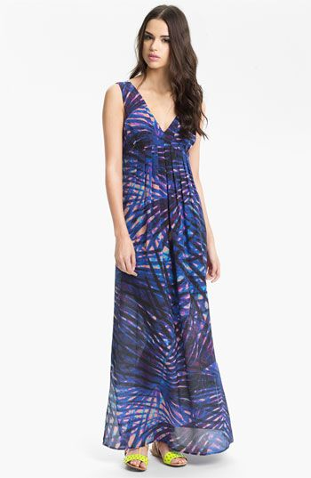 Presley Skye Print Silk Maxi Dress available at #Nordstrom, for my bachelorette!