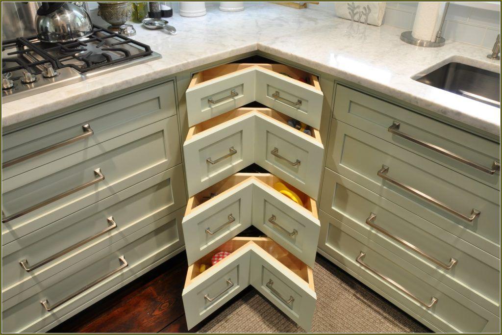 Lower Kitchen Cabinets With Drawers   Corner kitchen ...