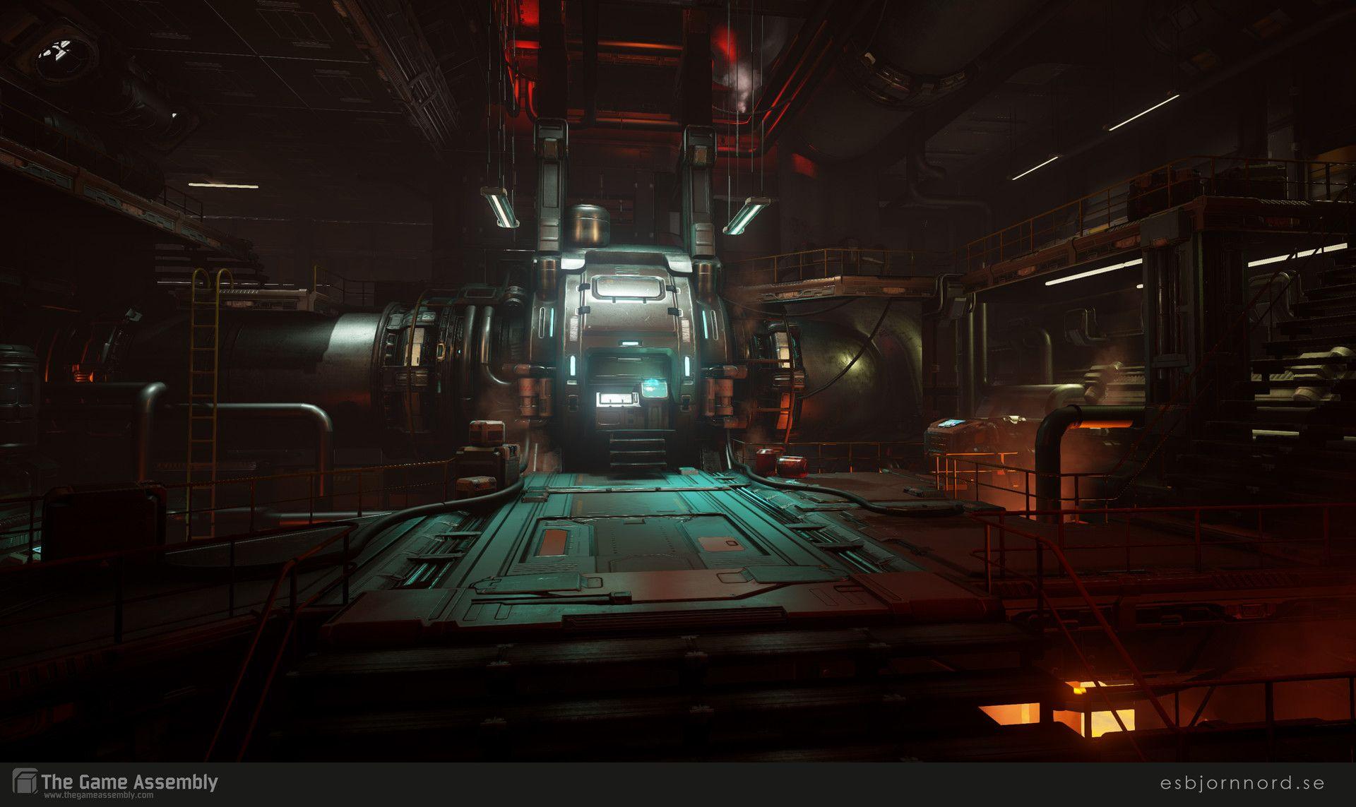 Building Doom With Ue4 Tips Tricks Doom Doom 4 Futuristic Art