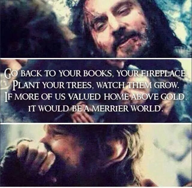 Image Result For Thorin Oakenshield Too Bilbo Baggins Go Back To Your.books