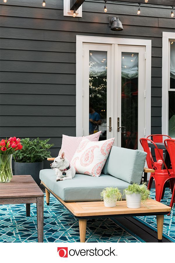 Transform your back porch into the perfect entertaining ...