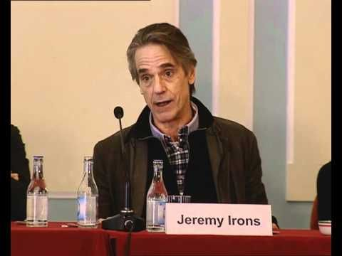 """Jeremy Irons at the """"Night Train to Lisbon"""" film Press Conference - """"...there is something very magical about your country..."""" #portugal"""