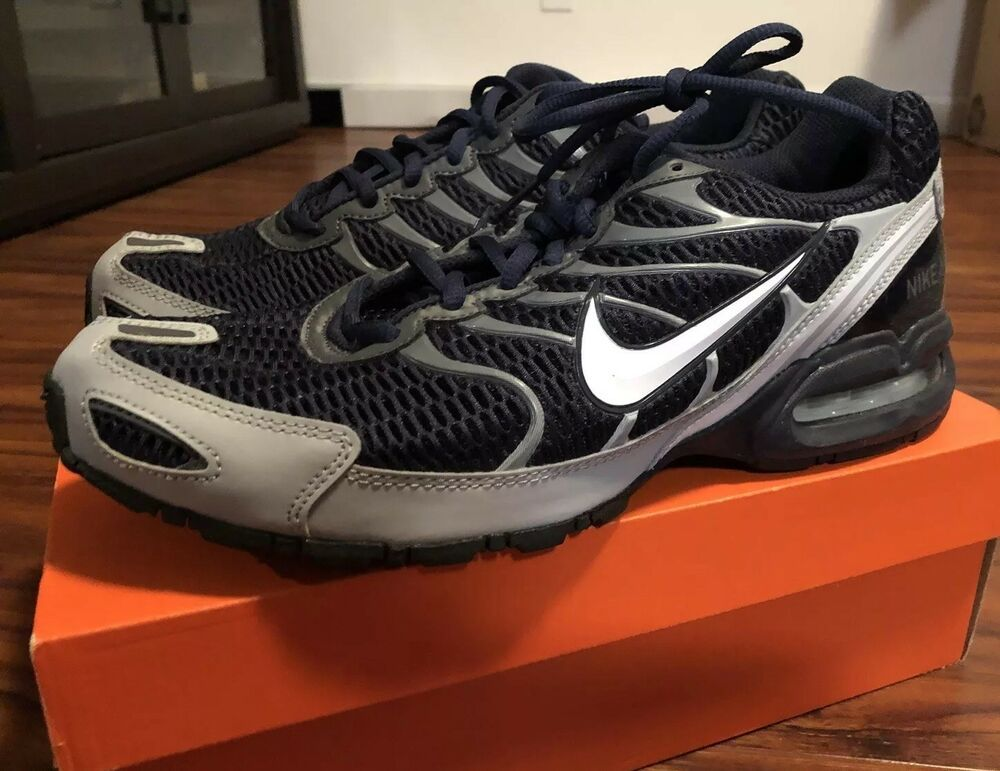New Mens NIKE Air Max Navy Blue Running Shoes Size 11.5