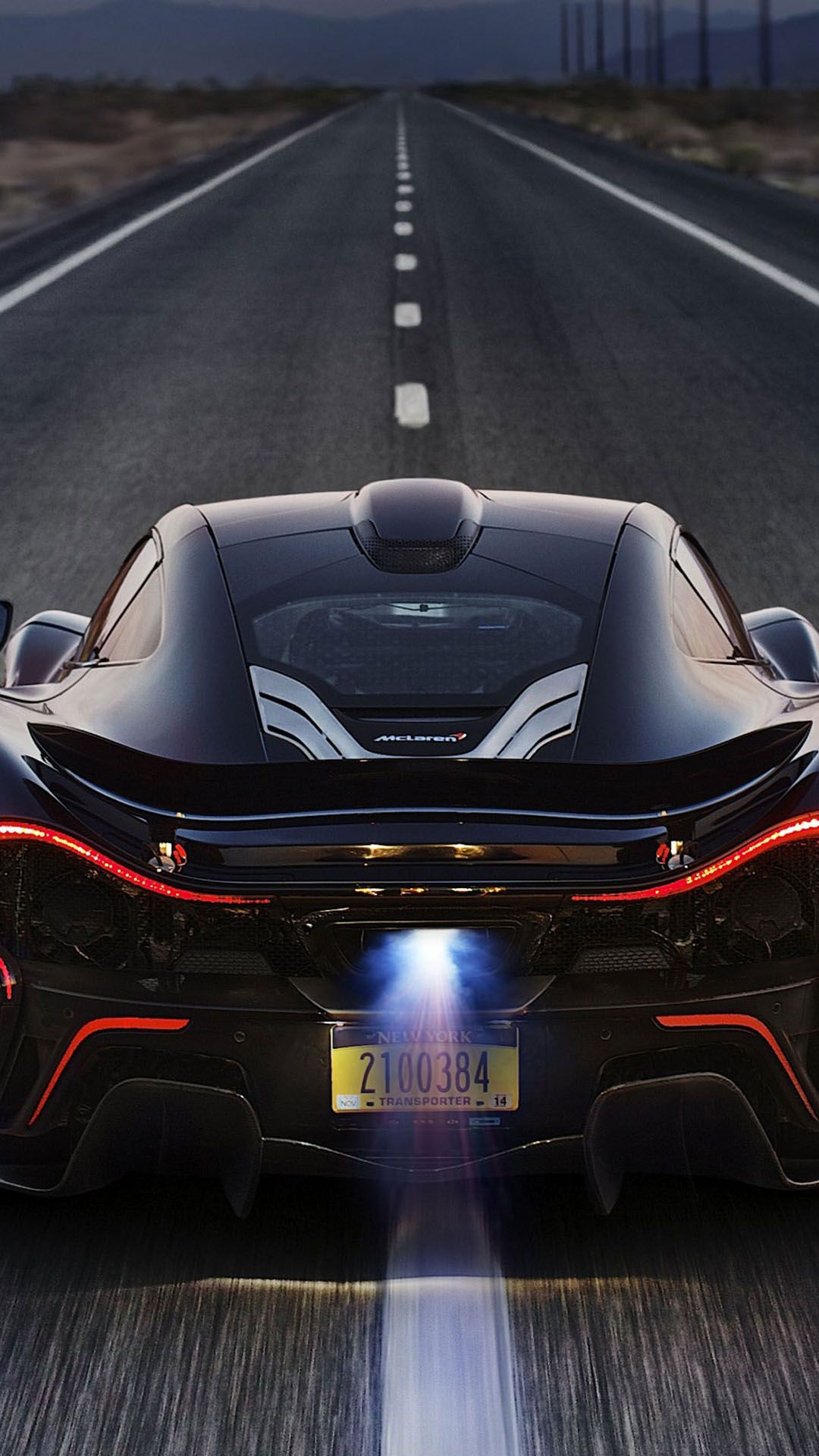 ↑↑tap and get the free app! men's world mclaren p1 back black