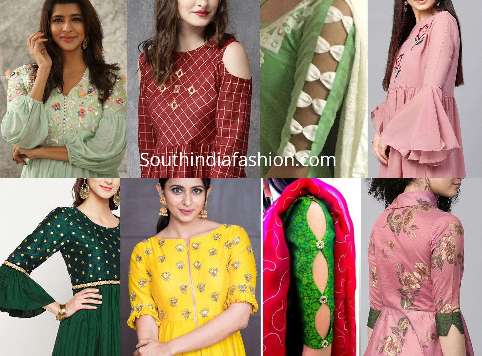 Image result for Beautiful Sleeves Designs for Patiala Suits