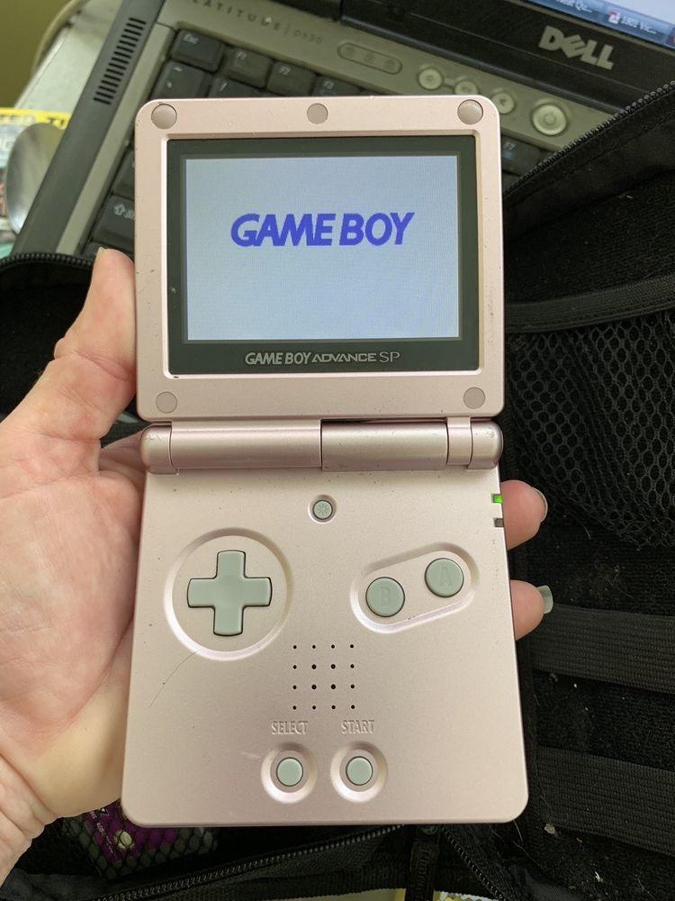 Nintendo Game Boy Advance Sp Pink W Charger 12 Games Case Lot Gameboy Nintendo Game Boy Advance Game Boy Advance Sp