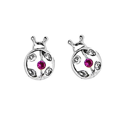 Baby And Children S Earrings Sterling Silver Ladybug With Safety Backs 36 47 Jewelry Pinterest Babies