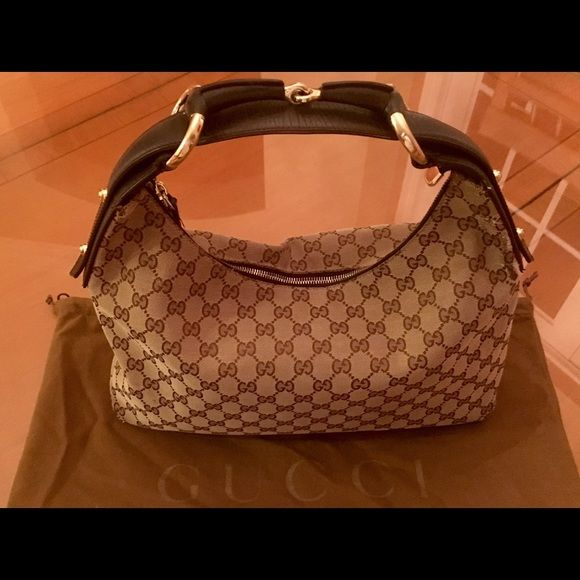 Bag Authentic Gucci With Original