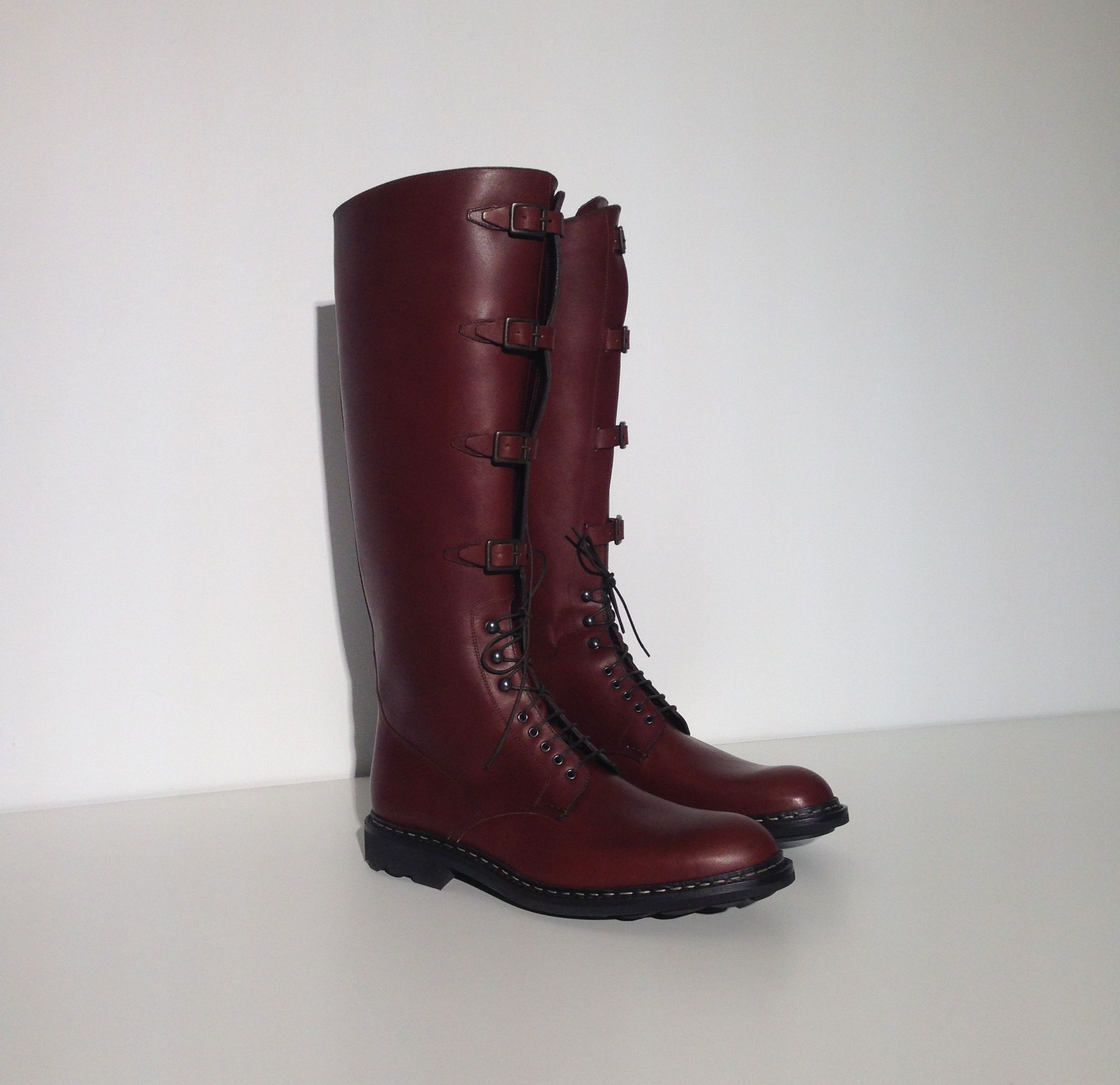 8cfff30e7bde5 Heschung shoes Boots Military - Suportlo Expresso  MadeinFrance  madetooder   boots  AteliersHeschung