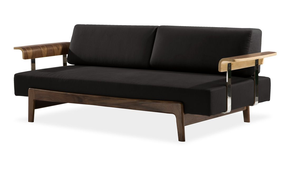 Casatua Black Daybed FASHION FOR HOME Daybed sofa