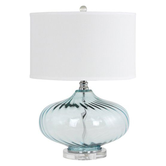 Aspire Home Accents Kamille Table Lamp Table Lamp Glass Table Lamp Lamp