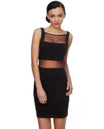 $55 Naughty List Black Dress