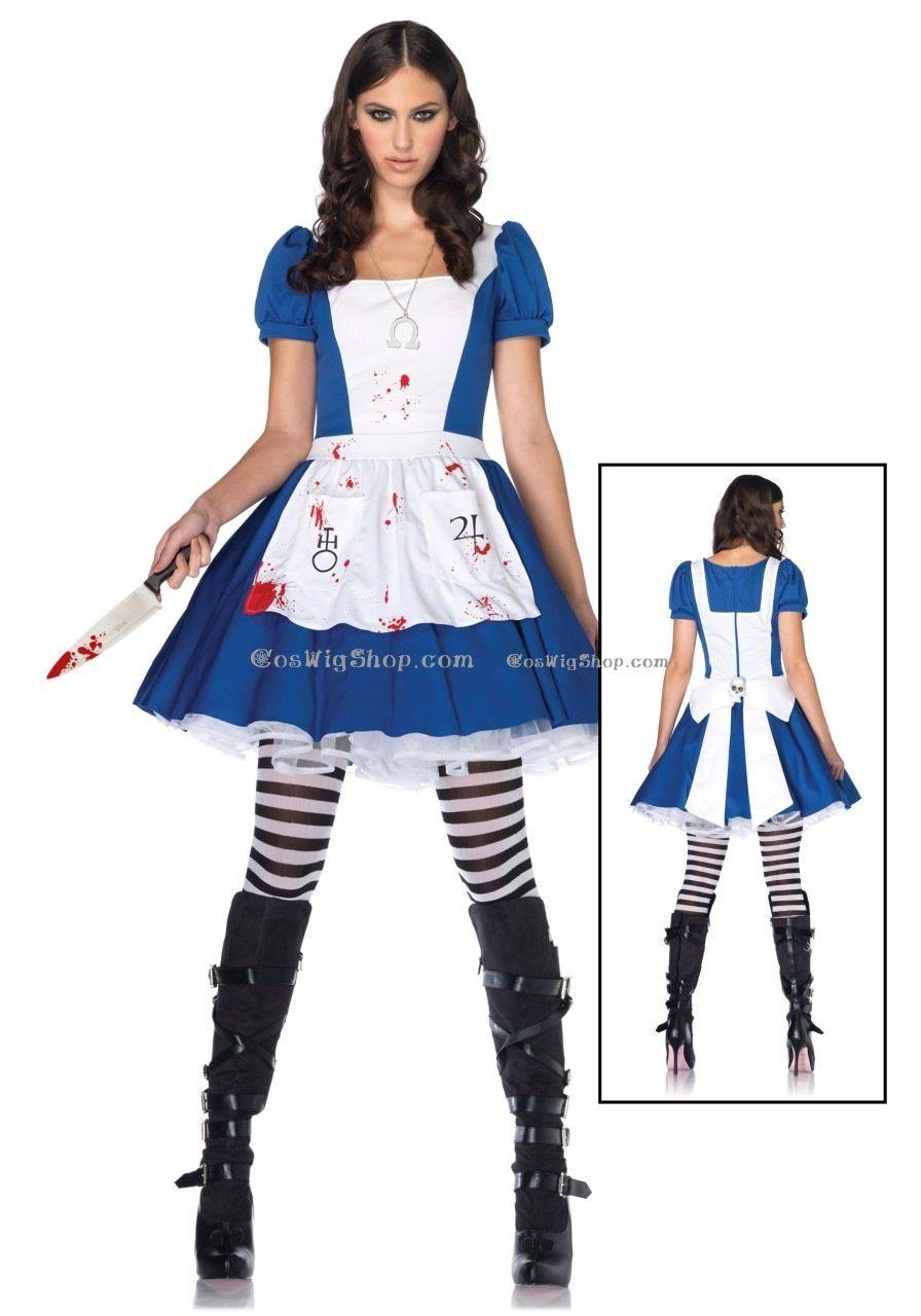Dark alice costume idea | Halloween !!!! | Pinterest | Alice costume ...