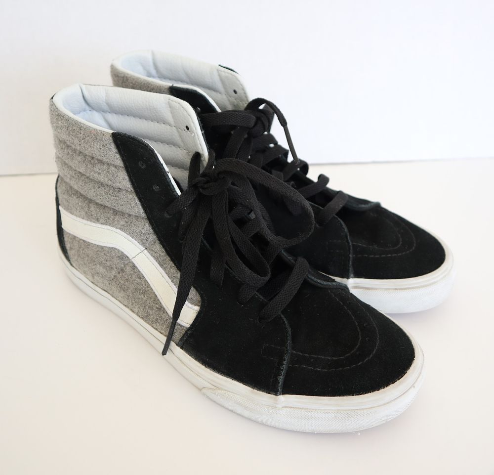 VANS OFF THE WALL SNEAKERS WOMENS SIZE 9 MENS SIZE 7.5 EXCELLENT  CONDITION!!  VANS  HighTop 45f4c7e9d