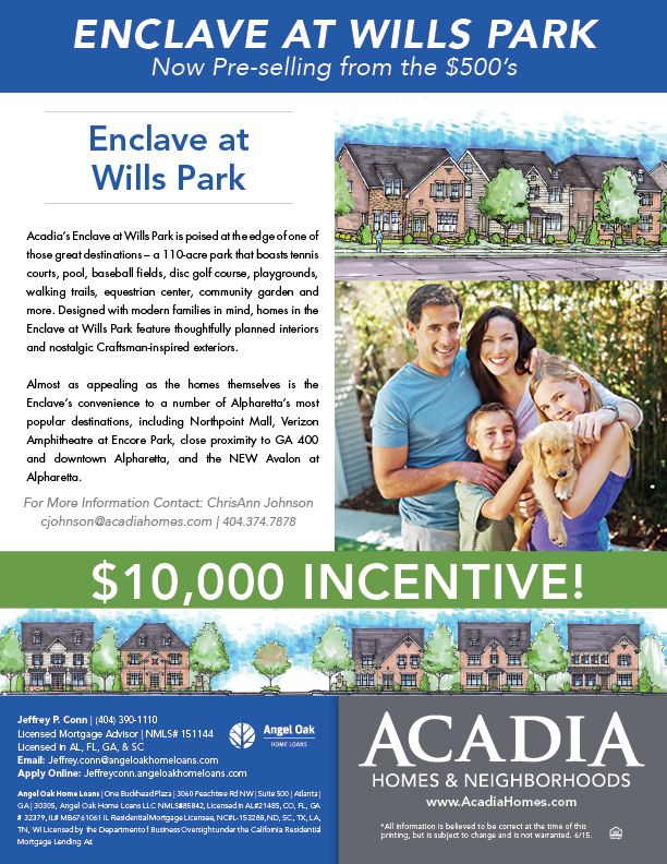 We Are So Excited To Announce That Our Enclave At Wills Park