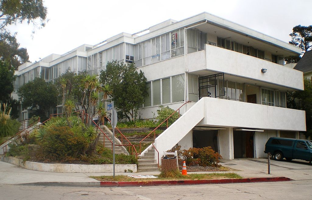 richard joseph neutra(18921970), landfair apartments