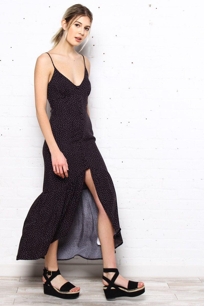Manta ray maxi dress